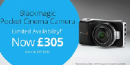 Massive price drop for Blackmagic Pocket Cinema Camera: 50% off until August 31st