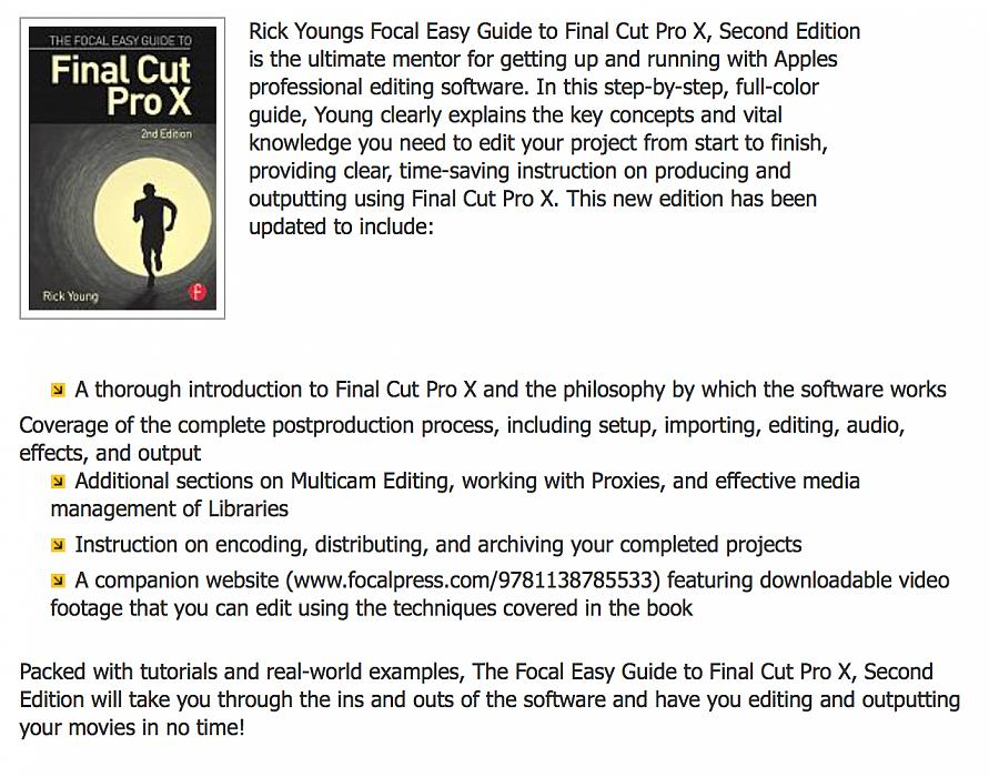 Final Cut Pro X tutorial - working with dual viewers
