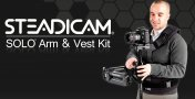 Steadicam SOLO: affordable combination Steadicam monopod able to hold up to 4.5kg