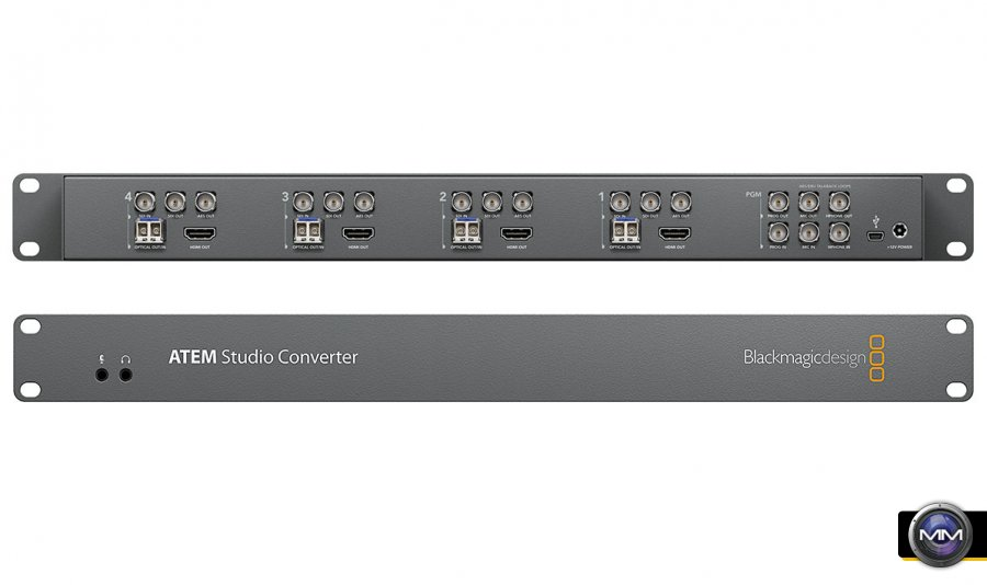 Blackmagic Design Announces Atem Studio Converter 2